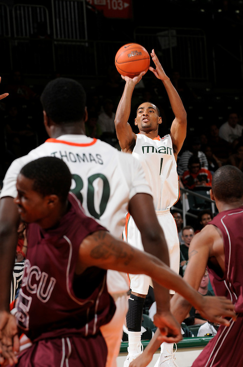 2009 University of Miami Men's Basketball vs North Carolina Central