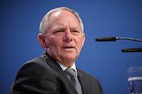 07 JAN 2008, KOELN/GERMANY:<br /> Wolfgang Schaeuble, CDU, Bundesinnenminister, haelt eine Rede, Gewerkschaftspolitische Arbeitstagung des Deutschen Beamtenbundes, dbb, Messe Koeln<br /> IMAGE: 20080107-01-079<br /> KEYWORDS: Köln, Wolfgang Schäuble
