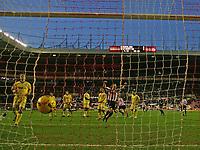 Photo: Andrew Unwin.<br />Sunderland v Southampton. Coca Cola Championship. 11/11/2006.<br />Sunderland's David Connolly (C) celebrates his team's first goal.