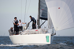 Offshore race at the NAM22 mark, Offshore World Championship, the Netherlands, Sunday, 15th of July 2018.