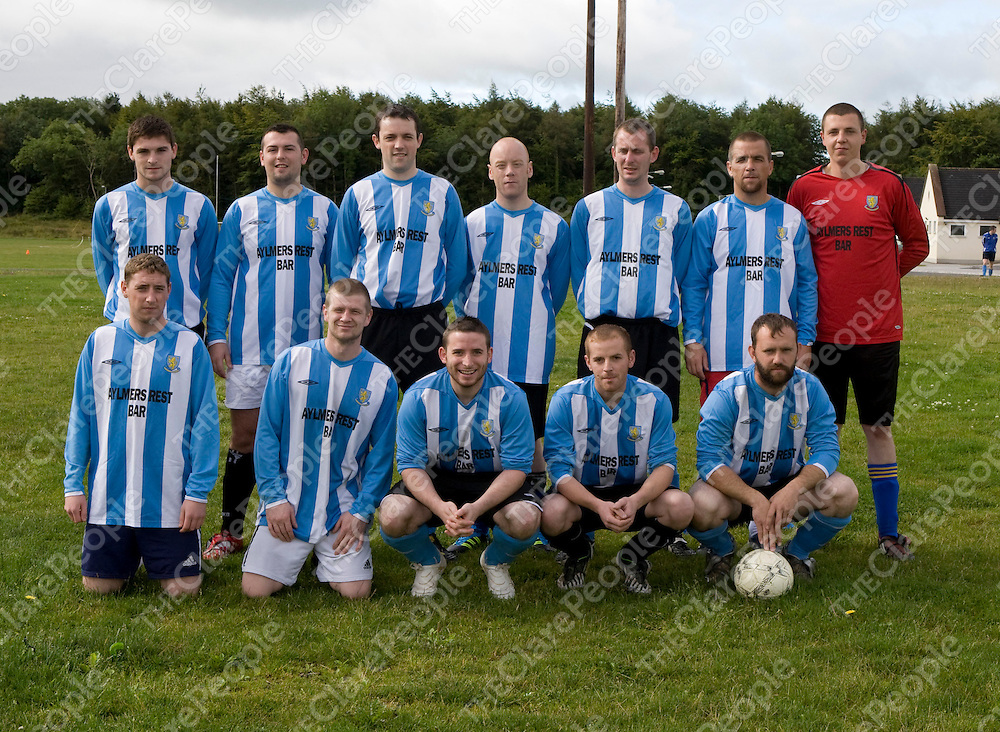 13/8/2011<br /> Pictured attending the Noel Ryan Memorial Cup last Saturday were the Turnpike team.<br /> Picture: Liam Burke/Press 22