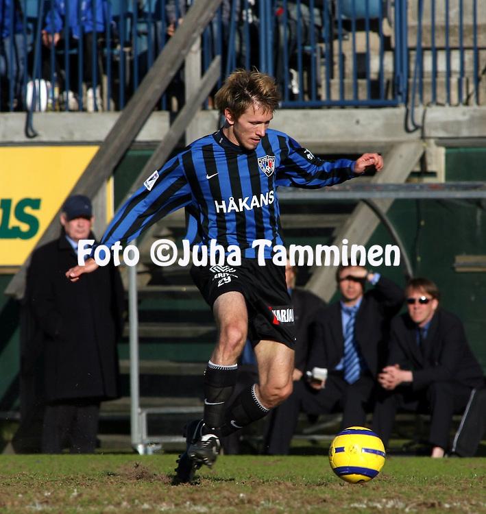 04.06.2006, Veritas Stadion, Turku, Finland..Veikkausliiga 2006 - Finnish League 2006.FC Inter Turku - Vaasan Palloseura.Henri Lehtonen - Inter.©Juha Tamminen.....ARK:k