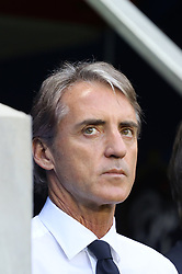 June 1, 2018 - Paris, Ile-de-France, France - Roberto Mancini, head coach of Italy National Team,   before the friendly football match between France and Italy at Allianz Riviera stadium on June 01, 2018 in Nice, France..France won 3-1 over Italy. (Credit Image: © Massimiliano Ferraro/NurPhoto via ZUMA Press)