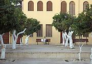 Israel, Tel Aviv, Neve Tzedek, Suzanne Dellal cultural center