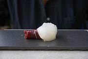China, Hong Kong S.A.R..Bo Innovation - X-treme Chinese Cuisine..IBERICO 36.morel, vermicelli, gazpacho