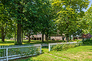 """Hallock Homestead, C. 1765, Hallockville Museum Farm. Riverhead, NY, """"Find out what life was like on a typical farm on the North Fork of Long Island from 1880 to 1920 by visiting the wonderfully preserved original buildings and observing the artifacts displayed throughout this history museum."""""""