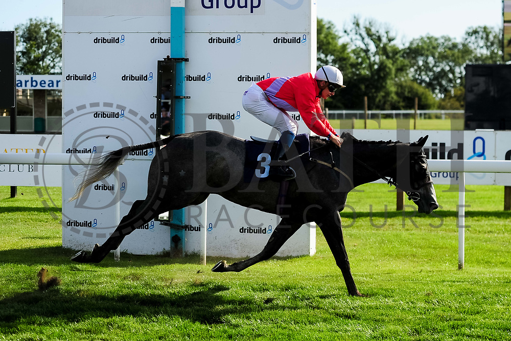 Little Boy Blue ridden by Ryan Tate and trained by Bill Turner in the Sds Water Management Handicap race.  - Ryan Hiscott/JMP - 14/09/2019 - PR - Bath Racecourse - Bath, England - Race Meeting at Bath Racecourse
