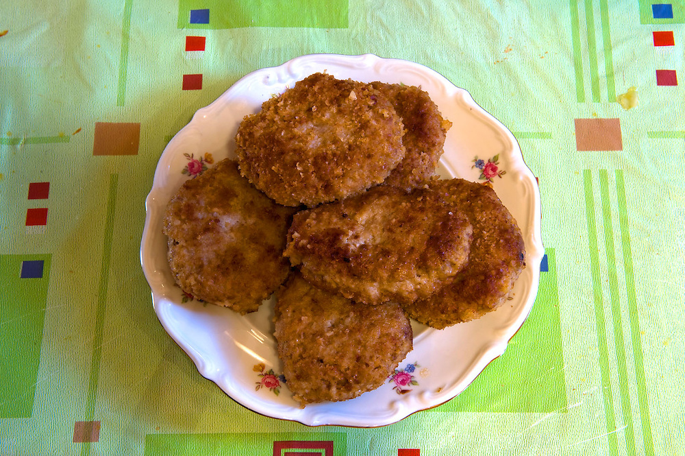 Mielone Klops  - Polish fried hamburgers <br />