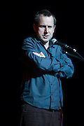 Jeremy Hardy performing at In praise of an English radical - A Celebration of Linda Smith, Lyceum Theatre Sheffield.