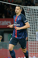 Fotball<br /> Foto: Dppi/Digitalsport<br /> NORWAY ONLY<br /> <br /> Zlatan Ibrahimovic (psg) during the French Championship Ligue 1 football match between Paris Saint Germain and Toulouse FC on November 7, 2015 at Parc des Princes stadium in Paris, France.