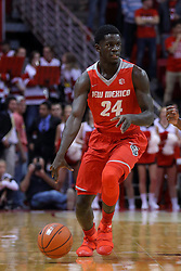 03 December 2016:  Damien Jefferson during an NCAA  mens basketball game between the New Mexico Lobos the Illinois State Redbirds in a non-conference game at Redbird Arena, Normal IL