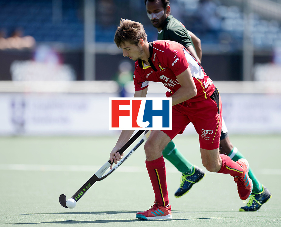 BREDA - Rabobank Hockey Champions Trophy<br /> 5th/6th place Belgium - Pakistan<br /> Photo: Antoine Kina.<br /> COPYRIGHT WORLDSPORTPICS FRANK UIJLENBROEK