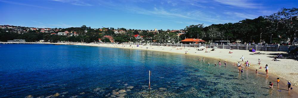 A Summer Day at Balmoral Beach, Sydney, Australia