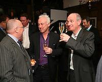 Neil Warnock, Ian Flooks and Paul Curran