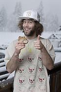 Professional snowboarder Eric Jackson.