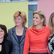 NLD/Amsterdam/20130214 - Prinses Maxima opent Women Inc, festival 2013,