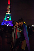 Orlando tribute from Paris, Eiffel Tower
