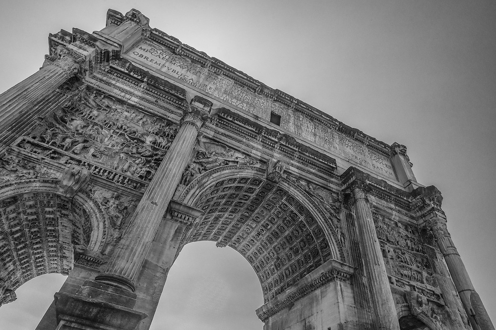 Arch of Septimius, Rome, Italy