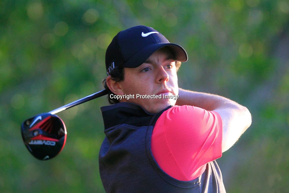 17/01/2013 European Tour 2013, Abi Dhabi HSBC Golf Championship, Abu Dhabi Golf Club, Abu Dhabi, United Arab  Emirates. 17-20 Jan. Rory  McIlroy of Northern Ireland during the first round.
