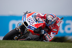 October 20, 2017 - Phillip Island, Australie - ANDREA DOVIZIOSO - ITALIAN - DUCATI TEAM - DUCATI (Credit Image: © Panoramic via ZUMA Press)