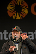 David Arnold - #March4Women 2018, a march and rally in London to celebrate International Women's Day and 100 years since the first women in the UK gained the right to vote.  Organised by Care International the march stated at Old Palace Yard and ended in a rally in Trafalgar Square.