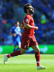 Mohamed Salah of Liverpool in action- Mandatory by-line: Nizaam Jones/JMP - 21/04/2019 -  FOOTBALL - Cardiff City Stadium - Cardiff, Wales -  Cardiff City v Liverpool - Premier League