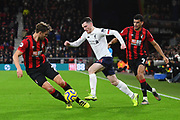 Andrew Robertson (26) of Liverpool on the attack during the Premier League match between Bournemouth and Liverpool at the Vitality Stadium, Bournemouth, England on 7 December 2019.