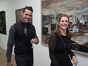 DAVINA BARBARA; KARL ULLGER, Gibraltar as seen by five artists. private view hosted by the Chief Minister of Gibraltar. Art Bermondsey project Space. 24 October 2017