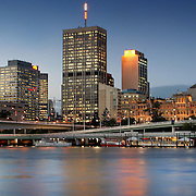 Brisbane CBD, Brisbane, Australia (May 2003)