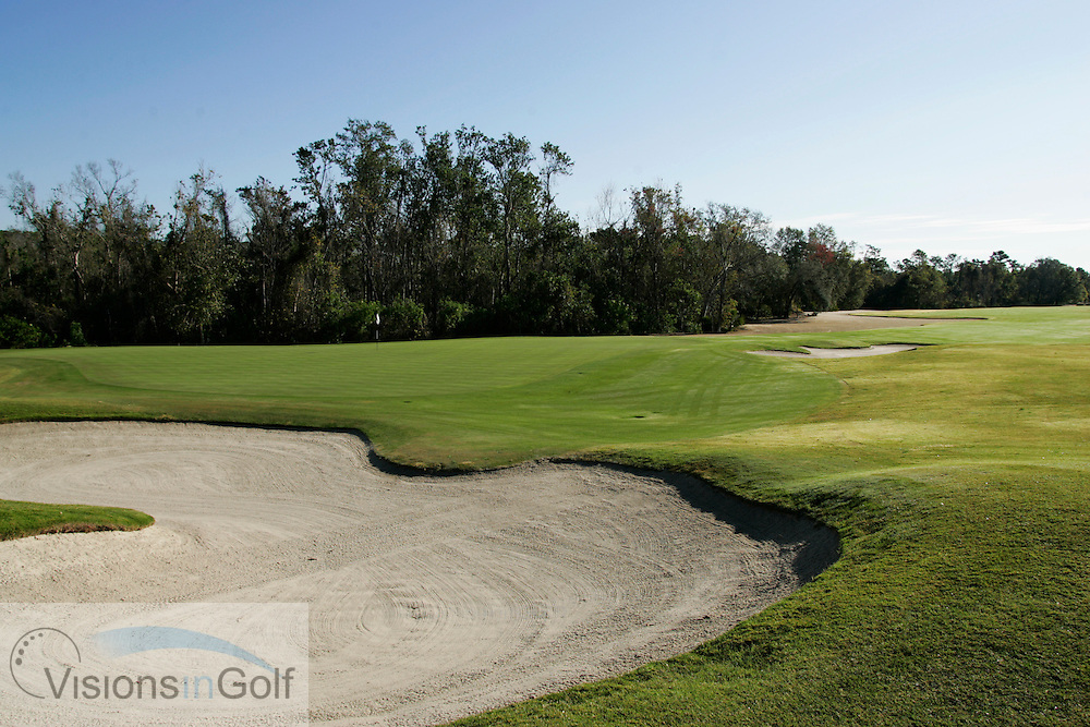 16th hole at The National Course, Champions Gate, Florida USA. Designed by Greg Norman<br /> <br /> Photo Mark Newcombe