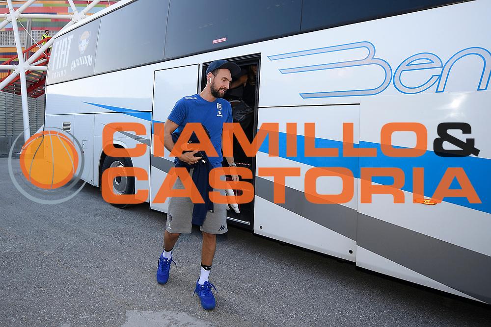 Poeta Giuseppe<br /> A|X Armani Exchange Milano - Fiat Torino<br /> Zurich Connect Supercoppa 2018-2019<br /> Lega Basket Serie A<br /> Brescia 30/09/2018<br /> Foto Ciamillo &amp; Castoria