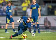 Michael Tørnes (Brøndby IF) under opvarmning til kampen i 3F Superligaen mellem Brøndby IF og Silkeborg IF den 14. juli 2019 på Brøndby Stadion (Foto: Claus Birch)