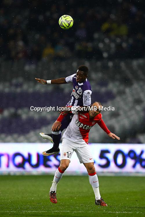 Dimitar Berbatov / Jacques Francois Moubandje - 05.12.2014 - Toulouse / Monaco - 17eme journee de Ligue 1 -<br />Photo : Manuel Blondeau / Icon Sport