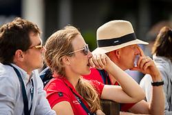De Liedekerke Lara, BEL, Meier Kai Steffen, GER, Desmedt Jef, BEL<br /> Luhmühlen - LONGINES FEI Eventing European Championships 2019<br /> Impressionen am Rande<br /> Teilprüfung Dressur 4. Teil CCI4*<br /> Dressage CH-EU-CCI4*-L: 4th part<br /> 30. August 2019<br /> © www.sportfotos-lafrentz.de/Dirk Caremans