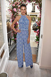 Sarah Ann Macklin at the launch of the Beulah Flagship store, 77 Elizabeth Street, London England. 16 May 2018.