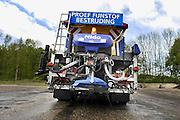 Nederland, Nijmegen, 20-4-2007..Proefvoertuig voor het verwijderen van fijnstof van het asfalt...Foto: Flip Franssen/Hollandse Hoogte