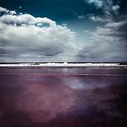 Brandung des Atlantik bei Mimizan-Plage, Frankreich<br /> Surf of the Atlantic Ocean near Mimizan-Plage, France<br /> Redbubble Prints &amp; more: http://rdbl.co/2t4LRWC<br /> Society6 Prints &amp; more: http://bit.ly/2spTbKs
