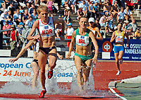 Friidrett<br /> Europacup kvinner<br /> 24.06.2007<br /> Foto: Hasse Sjøgren, Digitalsport<br /> <br /> Kristine Eikrem Engeset