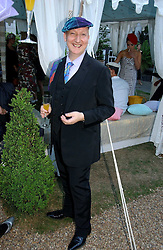 STEPHEN JONES at a party to celebrate Stephen Jones's 25 Years of Millinery held at Debenham House, 8 Addison Road, London W14 on 13th July 2006.<br />
