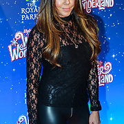 London, England, UK. 16th November 2017. Michelle Heaton attend the VIP launch of Hyde Park Winter Wonderland 2017 for a preview. tomorrow is opening for the public