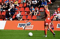 Fotball , 19. august 2017 ,  Toppserien , Røa - Kolbotn<br /> <br /> illustrasjon , Toppserien , publikum , logo , fan , fans , tribune