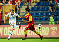 Jasmin Kurtic of Slovenia during friendly football match between National Teams of Montenegro and Slovenia, on June 2, 2018 in Stadium Pod goricom, Podgorica, Montenegro. Photo by Vid Ponikvar / Sportida