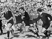 All Black Ian Kirkpatrick in action against Northern Transvaal in 1970 at Loftus Versfeld, Pretoria.<br /> Copyright photo: Wessel Oosthuizen / www.photosport.co.nz