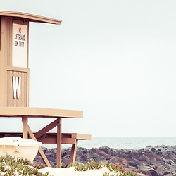The Wedge Lifeguard Tower W and Newport Beach Jetty panorama photo. The Wedge is a popular surf spot in Orange County Southern California in the United States of America. Panoramic photo ratio is 1:3. Copyright ⓒ 2010 Paul Velgos with All Rights Reserved.