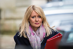 © Licensed to London News Pictures. 06/03/2018. London, UK. Secretary of State for Work and Pensions Esther McVey on Downing Street for the weekly Cabinet meeting. Photo credit: Rob Pinney/LNP