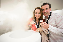 Mary and James Sixsmith pictured testing their senses at the Guinness Storehouse, celebrating talent and creativity on Arthur's Day 2013. Picture Andres Poveda