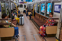Japon, île de Honshu, Kansai, Osaka, le metro // Japan, Honshu island, Kansai region, Osaka, subway