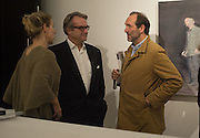SERENA MORTON; BOB CROZIER; DAVID MACMILLAN, Behind the Silence. private view  an exhibition of work by Paul Benney and Simon Edmondson. Serena Morton's Gallery, Ladbroke Grove, W10.  4 November 2015.
