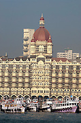 Taj Mahal Hotel Palace and Tower and Gateway of India, Mumbai, India