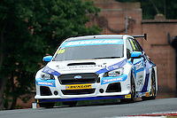 #99 Jason Plato GBR Subaru Team BMR Subaru Levorg GT  during first practice for the BTCC Oulton Park 4th-5th June 2016 at Oulton Park, Little Budworth, Cheshire, United Kingdom. June 04 2016. World Copyright Peter Taylor/PSP.